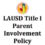 Parent Involvement Policy and School Compact Coming Soon